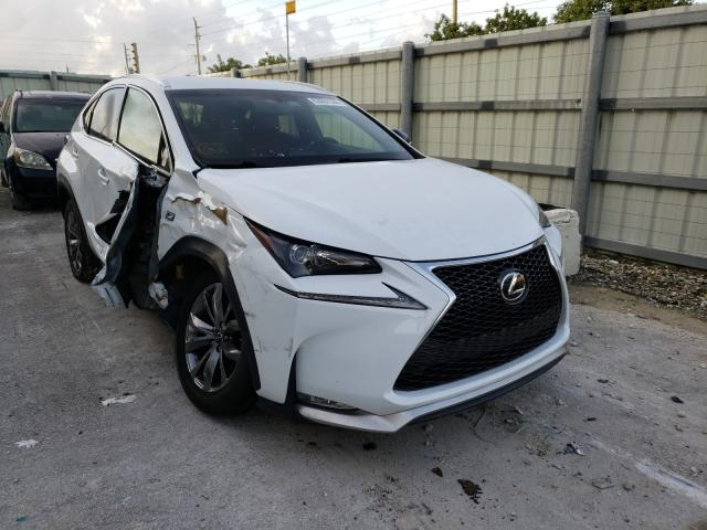 Salvage cars for sale from Copart Homestead, FL: 2017 Lexus NX 200T BA