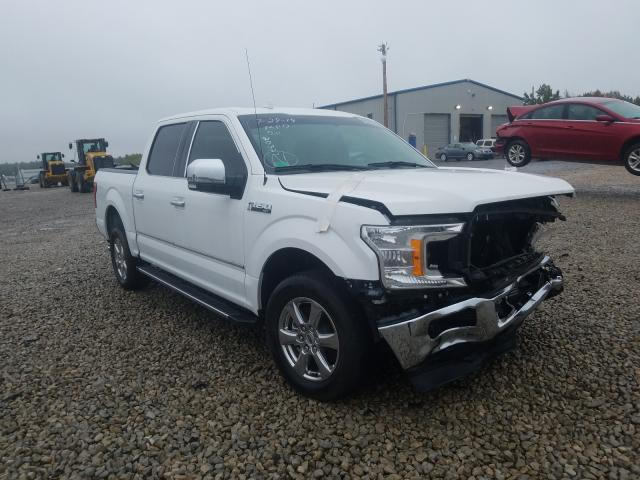 Salvage cars for sale at Memphis, TN auction: 2018 Ford F150 Super