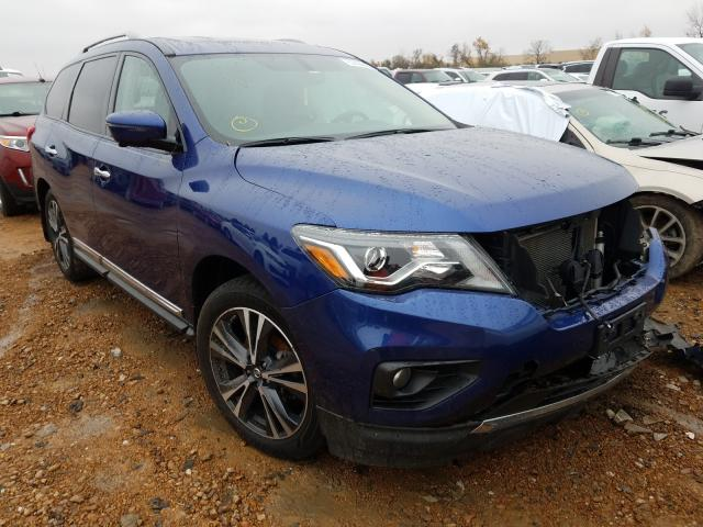 Salvage cars for sale from Copart Bridgeton, MO: 2017 Nissan Pathfinder