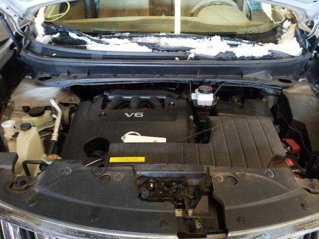 JN8AZ1MW8AW134627 2010 Nissan Murano S 3.5L