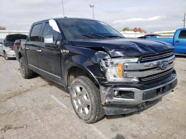 Salvage cars for sale from Copart Lexington, KY: 2018 Ford F150 Super