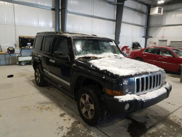 Jeep Commander salvage cars for sale: 2006 Jeep Commander