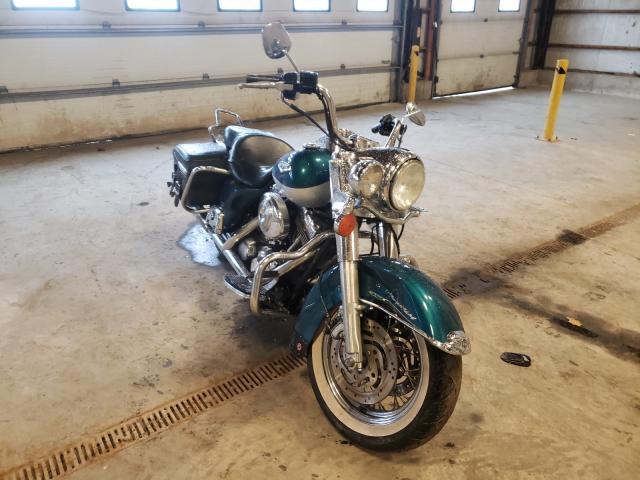 Salvage cars for sale from Copart Candia, NH: 2004 Harley-Davidson Flhrci