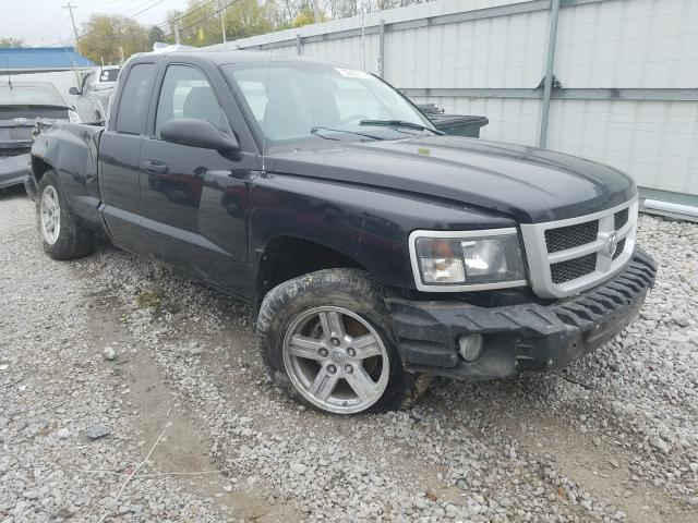 Dodge Dakota SXT salvage cars for sale: 2009 Dodge Dakota SXT