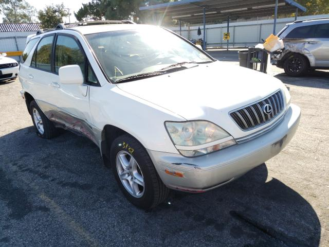 Salvage cars for sale from Copart Van Nuys, CA: 2002 Lexus RX 300