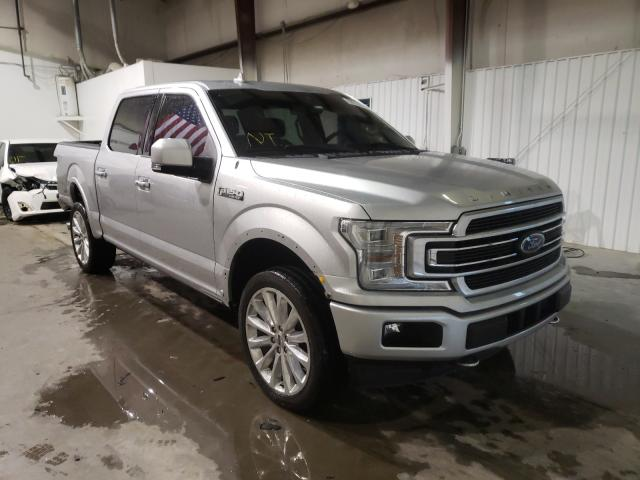 Salvage cars for sale from Copart Tulsa, OK: 2018 Ford F150 Super