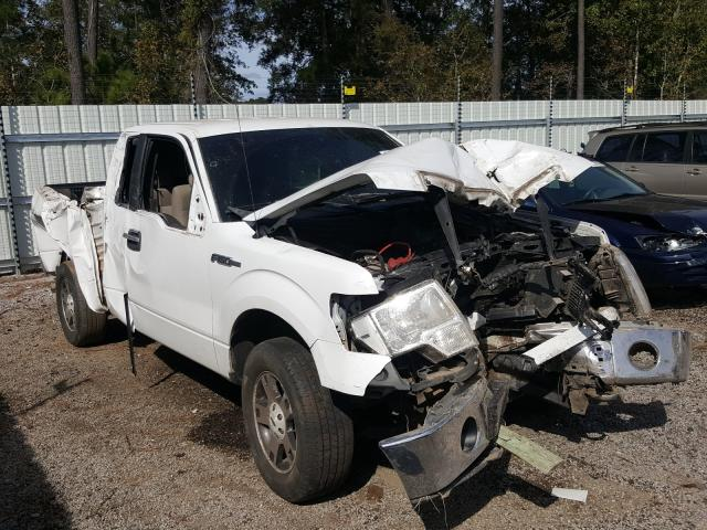 Salvage cars for sale from Copart Harleyville, SC: 2010 Ford F150 Super