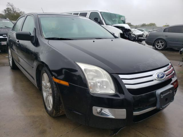 Ford Fusion SEL salvage cars for sale: 2007 Ford Fusion SEL