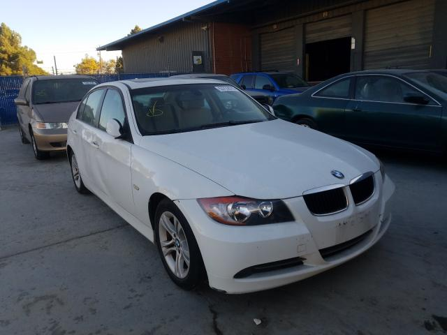 BMW 3 Series salvage cars for sale: 2008 BMW 3 Series