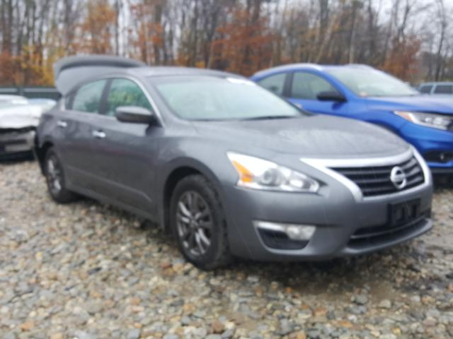 Salvage cars for sale from Copart Candia, NH: 2015 Nissan Altima 2.5