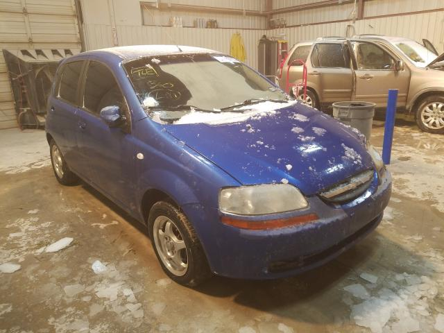 Salvage cars for sale from Copart Abilene, TX: 2006 Chevrolet Aveo Base