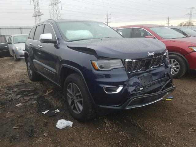 Salvage cars for sale from Copart Elgin, IL: 2017 Jeep Grand Cherokee