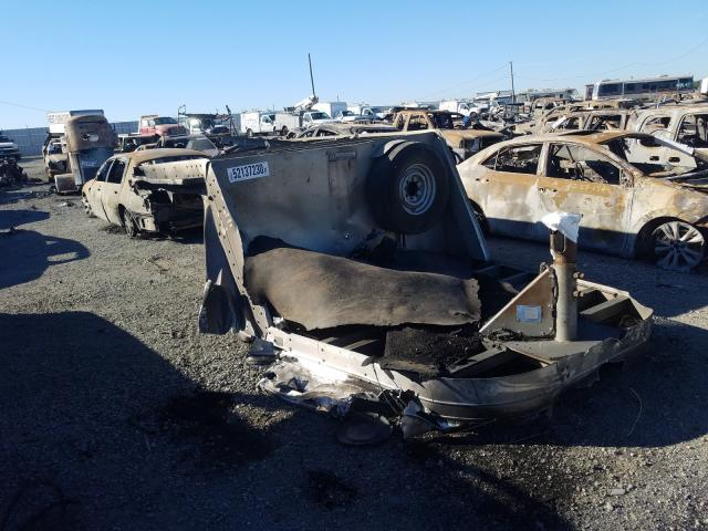 Exiss salvage cars for sale: 1997 Exiss Trailer