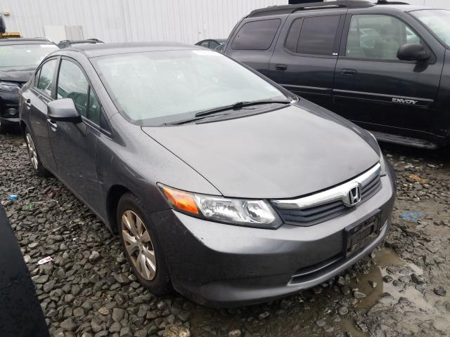 Vehiculos salvage en venta de Copart York Haven, PA: 2012 Honda Civic LX
