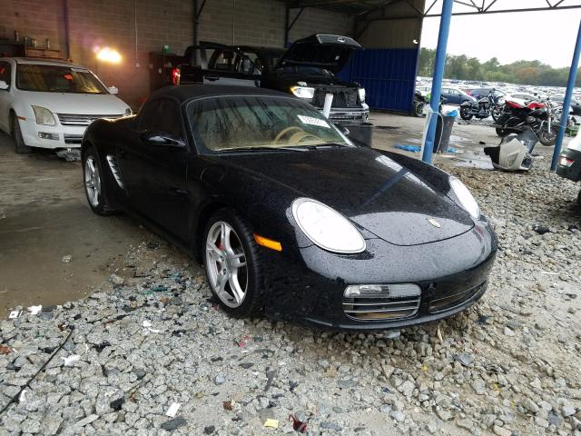 Salvage cars for sale from Copart Cartersville, GA: 2006 Porsche Boxster S