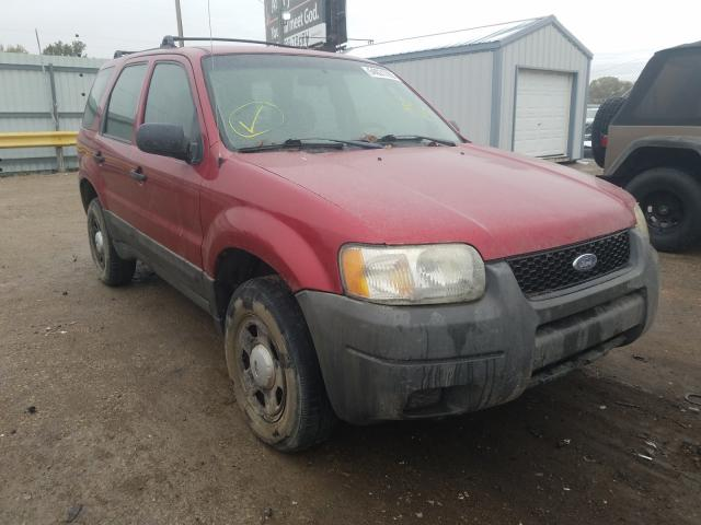 Ford Escape XLS salvage cars for sale: 2003 Ford Escape XLS
