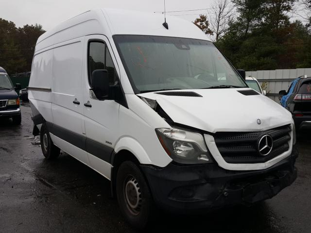 Mercedes-Benz Sprinter 2 salvage cars for sale: 2015 Mercedes-Benz Sprinter 2