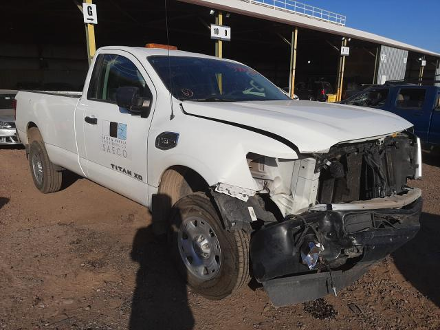 Salvage cars for sale from Copart Phoenix, AZ: 2018 Nissan Titan XD S