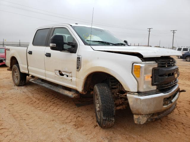 Salvage cars for sale from Copart Andrews, TX: 2017 Ford F250 Super