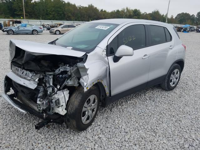 из сша 2017 Chevrolet Trax Ls 1.4L KL7CJKSB0HB237184