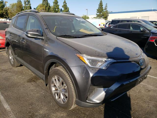 Salvage cars for sale from Copart Rancho Cucamonga, CA: 2018 Toyota Rav4 HV LE
