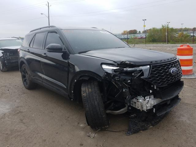 Salvage cars for sale from Copart Indianapolis, IN: 2020 Ford Explorer S