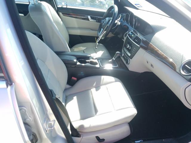 пригнать из сша 2013 Mercedes-Benz C 250 1.8L WDDGF4HB4DG102625