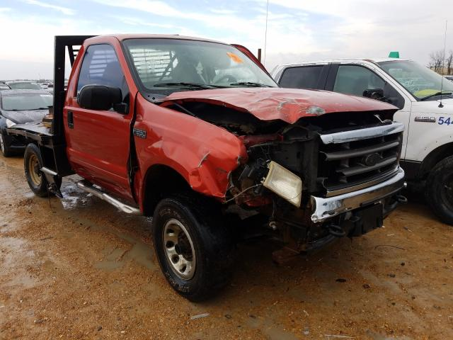 Salvage cars for sale from Copart Bridgeton, MO: 2001 Ford F250 Super