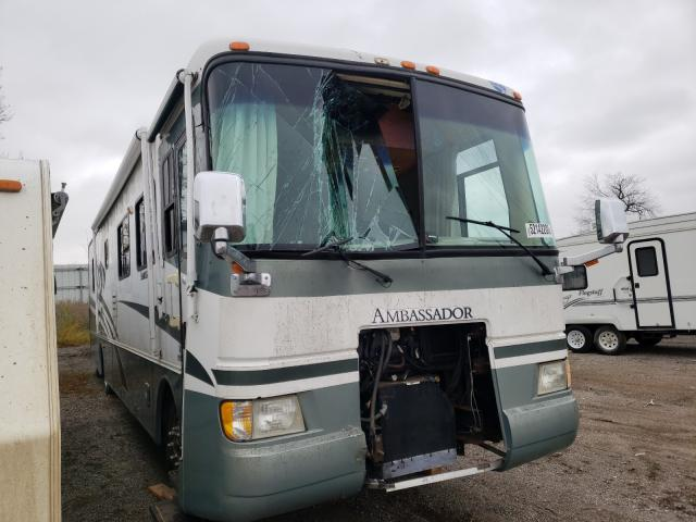 Holiday Rambler salvage cars for sale: 2003 Holiday Rambler Motorhome