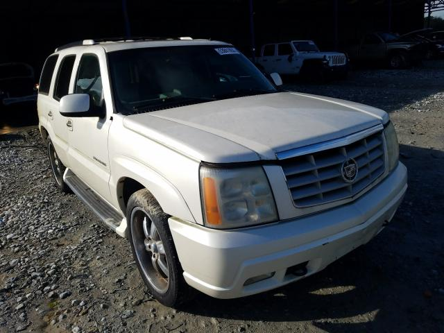 Salvage cars for sale from Copart Cartersville, GA: 2002 Cadillac Escalade L