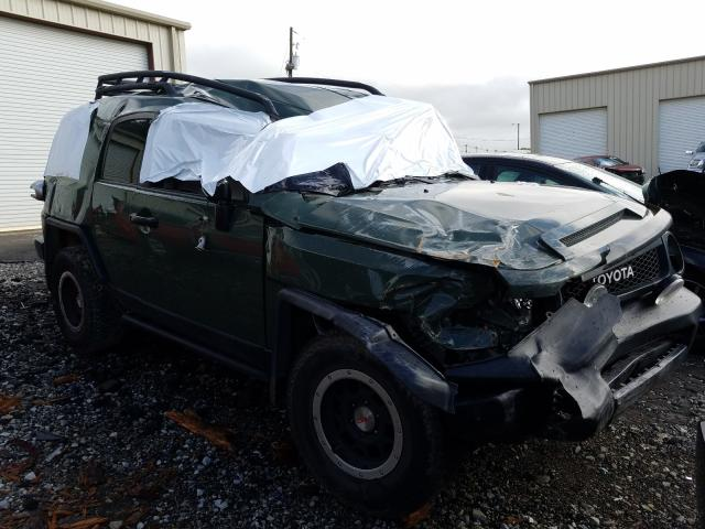 Salvage cars for sale from Copart Gainesville, GA: 2011 Toyota FJ Cruiser