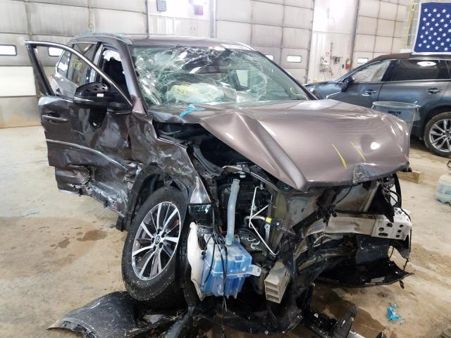 Salvage cars for sale from Copart Columbia, MO: 2019 Toyota Highlander