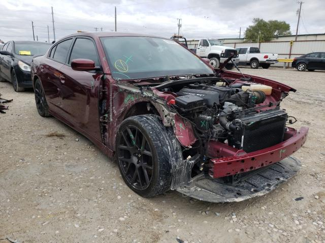 Salvage cars for sale from Copart Haslet, TX: 2019 Dodge Charger SC