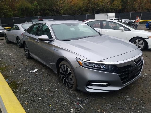 Salvage cars for sale from Copart Waldorf, MD: 2019 Honda Accord Hybrid