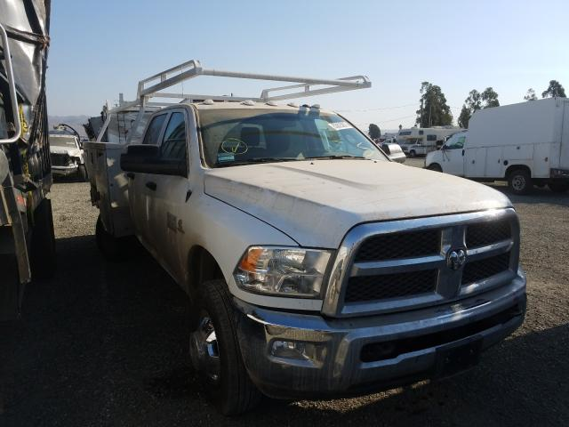 Salvage cars for sale from Copart Vallejo, CA: 2018 Dodge RAM 3500