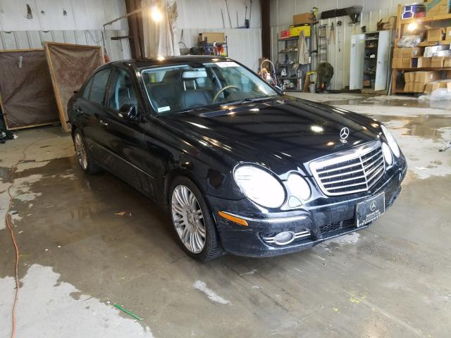 Salvage cars for sale from Copart Duryea, PA: 2007 Mercedes-Benz E 350 4matic