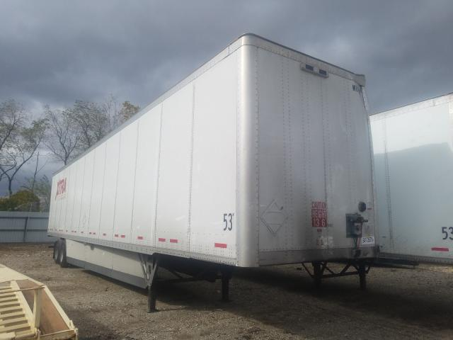 Wabash salvage cars for sale: 2020 Wabash Waba Trailer