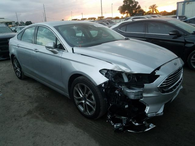 Ford Fusion SEL salvage cars for sale: 2019 Ford Fusion SEL