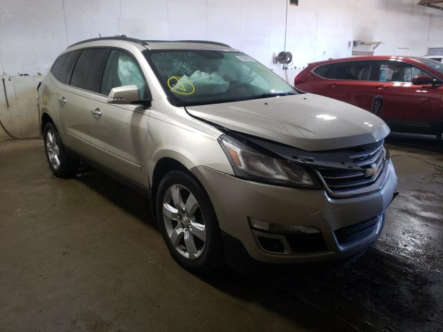 Salvage cars for sale from Copart Portland, MI: 2016 Chevrolet Traverse L