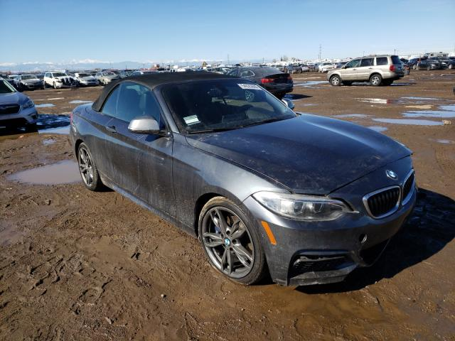 Salvage cars for sale from Copart Brighton, CO: 2016 BMW M235I