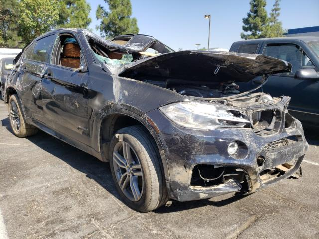 Salvage cars for sale from Copart Rancho Cucamonga, CA: 2019 BMW X6 XDRIVE3