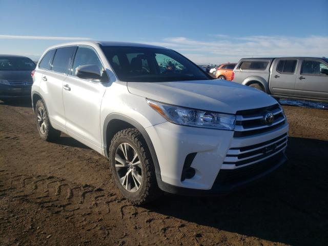 Salvage cars for sale at Brighton, CO auction: 2017 Toyota Highlander
