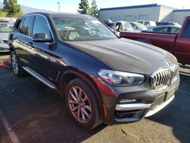 Salvage cars for sale from Copart Rancho Cucamonga, CA: 2018 BMW X3 XDRIVE3