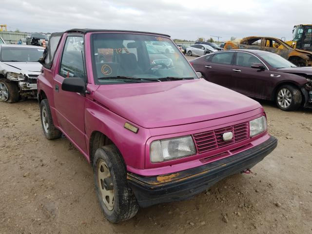 GEO Tracker salvage cars for sale: 1994 GEO Tracker