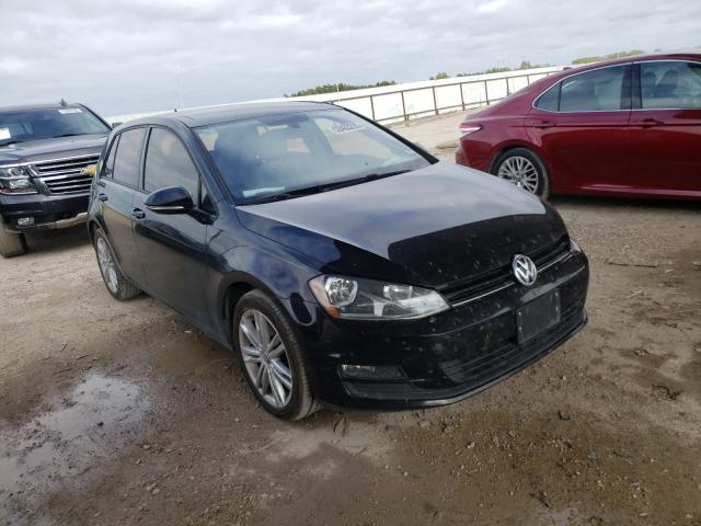 Salvage cars for sale from Copart Temple, TX: 2015 Volkswagen Golf TDI
