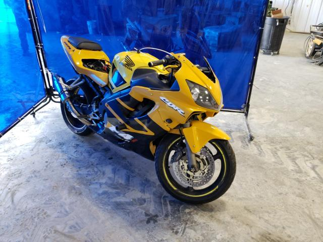 Salvage cars for sale from Copart Spartanburg, SC: 2002 Honda CBR600 F4