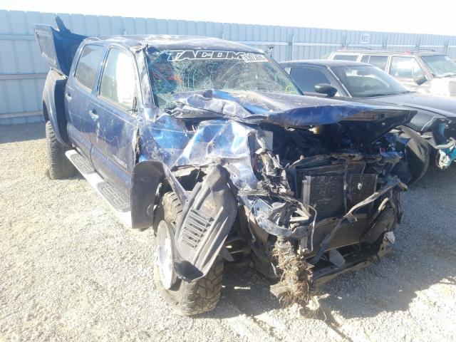 Salvage cars for sale from Copart Anderson, CA: 2007 Toyota Tacoma DOU