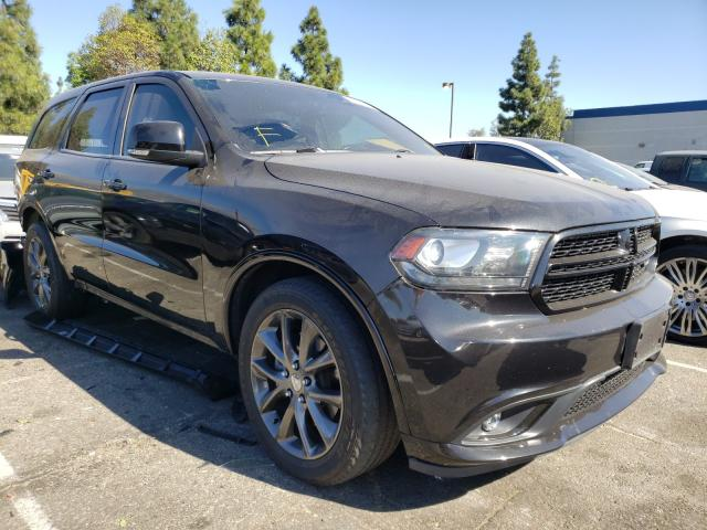 Salvage cars for sale from Copart Rancho Cucamonga, CA: 2014 Dodge Durango R