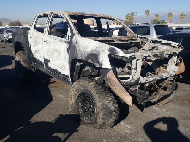 Salvage cars for sale from Copart Colton, CA: 2017 Chevrolet Colorado Z