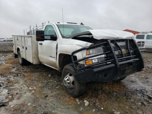 Salvage cars for sale from Copart Chambersburg, PA: 2017 Chevrolet 3500HD